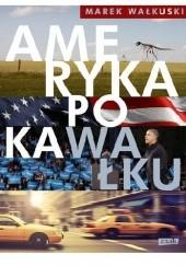 Okładka książki Ameryka po kaWałku Marek Wałkuski