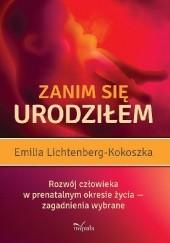 Okładka książki Zanim się urodziłem Emilia Lichtenberg-kokoszka