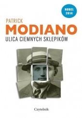 Okładka książki Ulica Ciemnych Sklepików Patrick Modiano