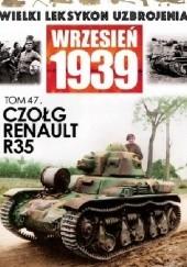 Okładka książki Czołg Renault R35 Wojciech Mazur