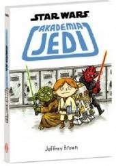 Okładka książki Akademia Jedi Jeffrey Brown