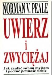 Okładka książki Uwierz i zwycieżaj Norman Vincent Peale