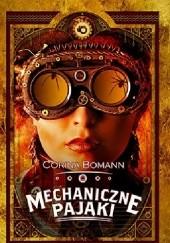 Okładka książki Mechaniczne pająki Corina Bomann