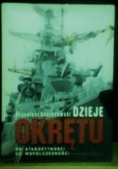 Okładka książki Dzieje okrętu od starożytności do współczesności Eugeniusz Koczorowski