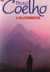 Okładka książki L'Alchimiste Paulo Coelho