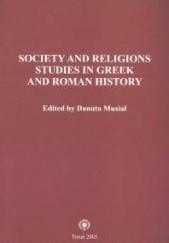 Okładka książki Society and religions Danuta Musiał