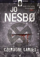 Okładka książki Czerwone gardło Jo Nesbø