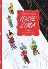 Okładka książki Idzie zima Tadeusz Kubiak