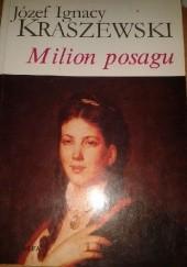 Okładka książki Milion posagu Józef Ignacy Kraszewski