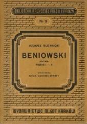 Okładka książki Beniowski Juliusz Słowacki
