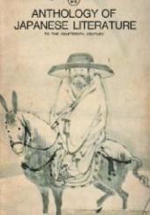 Okładka książki Anthology of Japanese Literature: To the Nineteenth Century Donald Keene