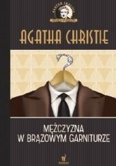 Okładka książki Mężczyzna w brązowym garniturze Agatha Christie