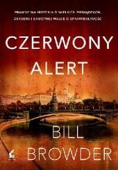 Okładka książki Czerwony alert Bill Browder