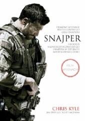 Okładka książki Snajper. Historia najniebezpieczniejszego snajpera w dziejach armii amerykańskiej Chris Kyle,Jim DeFelice,Scott McEwen