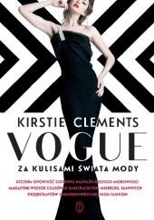 Okładka książki Vogue. Za kulisami świata mody Kirstie Clements