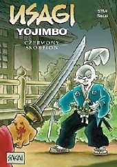 Okładka książki Usagi Yojimbo: Czerwony Skorpion Stan Sakai