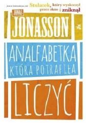 Okładka książki Analfabetka, która potrafiła liczyć Jonas Jonasson