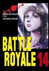 Okładka książki Battle Royale 14 Koushun Takami,Masayuki Taguchi