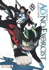 Okładka książki Ao No Exorcist 8 Kato Kazue