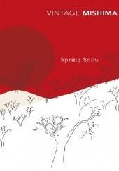 Okładka książki Spring Snow Yukio Mishima