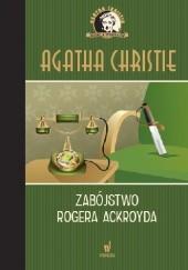 Okładka książki Zabójstwo Rogera Ackroyda Agatha Christie