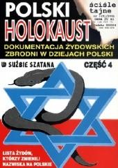 Okładka książki Polski Holocaust. Dokumentacja zbrodni żydowskich w dziejach Polski. Leszek Bubel
