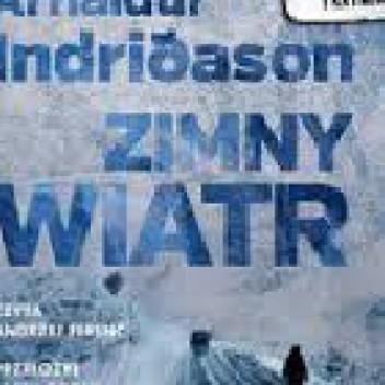 Okładka książki Zimny wiatr Arnaldur Indriðason