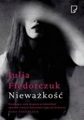 Okładka książki Nieważkość Julia Fiedorczuk