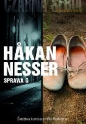 Okładka książki Sprawa G Håkan Nesser