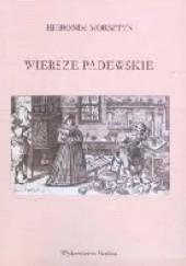 Okładka książki Wiersze padewskie Hieronim Morsztyn