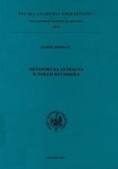 Okładka książki Metaforyka astralna w poezji rzymskiej Marek Hermann