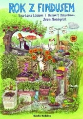Okładka książki Rok z Findusem Sven Nordqvist,Eva-Lena Larsson,Kennert Danielsson