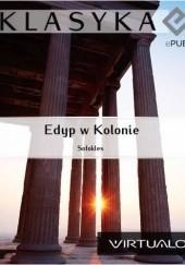 Okładka książki Edyp w Kolonie Sofokles