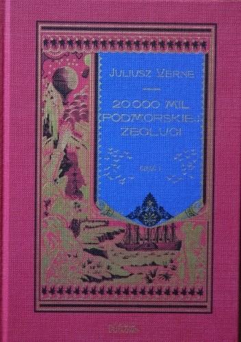 Okładka książki 20 000 mil podmorskiej żeglugi - cz.1 Juliusz Verne