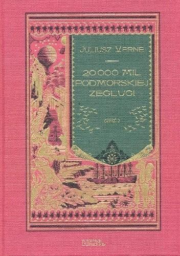 Okładka książki 20 000 mil podmorskiej żeglugi - cz.2 Juliusz Verne