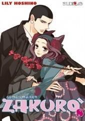 Okładka książki Demon Maiden Zakuro t.8 Lily Hoshino