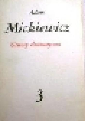 Okładka książki Utwory dramatyczne Adam Mickiewicz