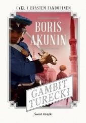 Okładka książki Gambit turecki Boris Akunin