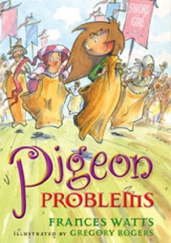 Okładka książki Pigeon Problems Frances Watts