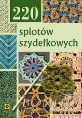 Okładka książki 220 splotów szydełkowych praca zbiorowa