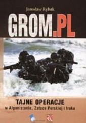 Okładka książki Grom.pl Jarosław Rybak