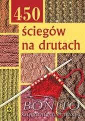 Okładka książki 450 ściegów na drutach praca zbiorowa