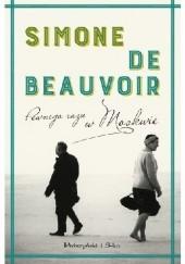 Okładka książki Pewnego razu w Moskwie Simone de Beauvoir