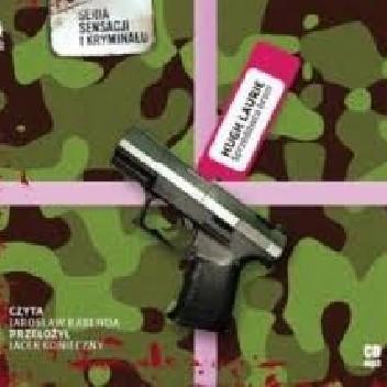 Okładka książki Sprzedawca broni Hugh Laurie