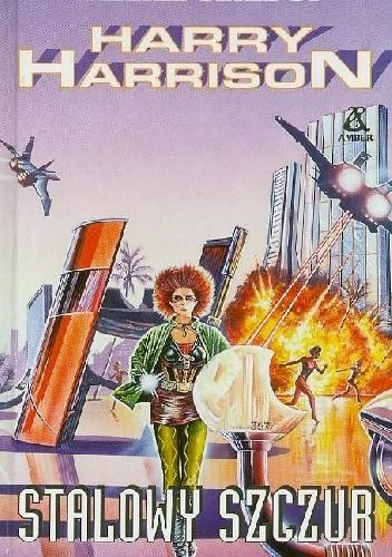 Okładka książki Stalowy szczur Harry Harrison