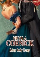 Okładka książki Listy lady Lucy Nicola Cornick