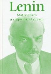 Okładka książki Materializm a empiriokrytycyzm Włodzimierz Lenin