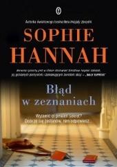 Okładka książki Błąd w zeznaniach Sophie Hannah