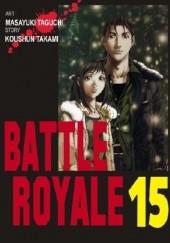 Okładka książki Battle Royale 15 Koushun Takami,Masayuki Taguchi