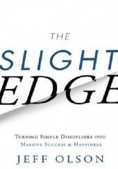 Okładka książki The Slight Edge Jeff Olson